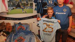 Het verhaal achter de beelden: vader David en zoon Milan (11) over het wedstrijdshirt van Vormer