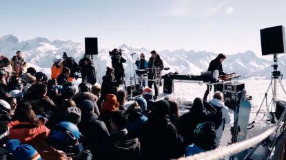 Curtis Alto is klaar voor Tomorrowland Winter, bewijzen ze met concert op 3000 meter hoogte