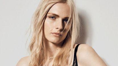 Transgendermodel Andreja Pejić te zien in een lingeriecampagne