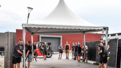 Dendermonde Rugby Club bouwt sportsite om tot festivalterrein voor Flanders Open Rugby