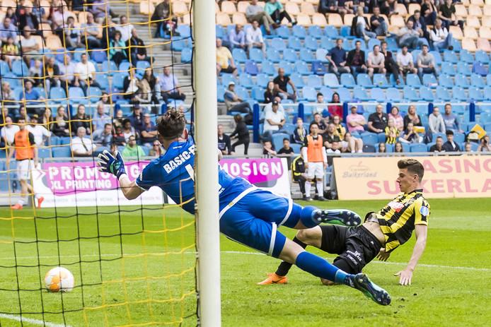 Mason Mount maakte de 2-0 tegen ADO Den Haag.