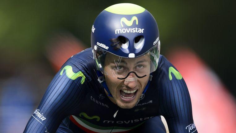 De Italiaanse wielrenner Adriano Malori. Beeld afp