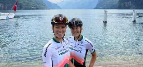Vollering verkent WK-parcours tijdens Zwitserse bikepack-tocht: 'Mooi avontuur'