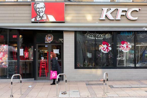 Kentucky Fried Chicken opent zijn eerste filiaal in Antwerpen