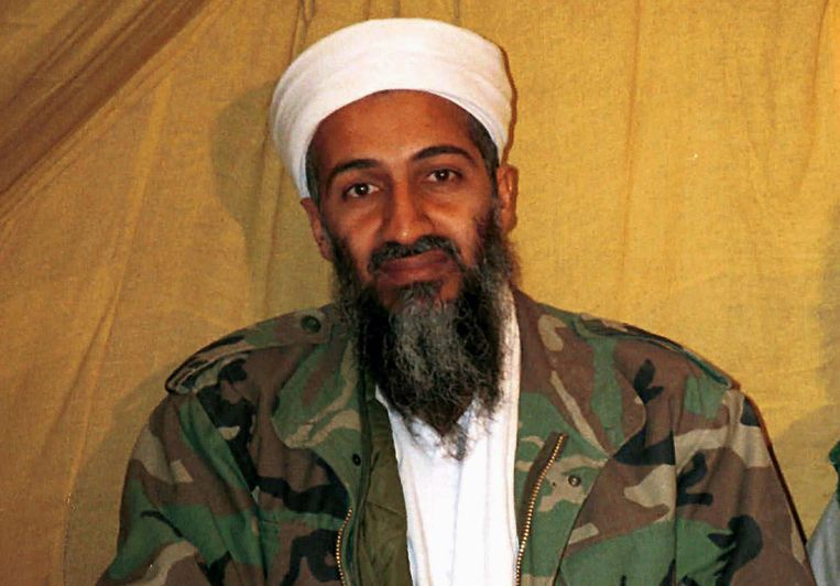 Osama bin Laden. Beeld ap