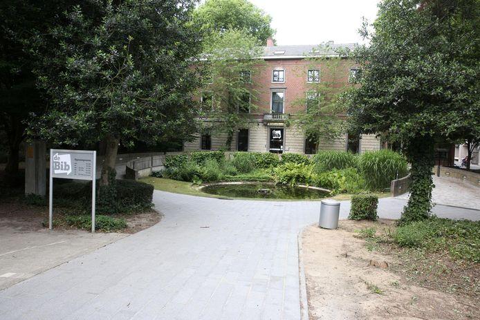 De bibliotheek van Halle.