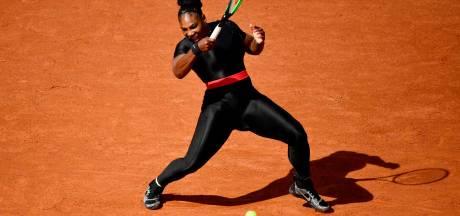 Serena Williams mag strakke catsuit weer aan