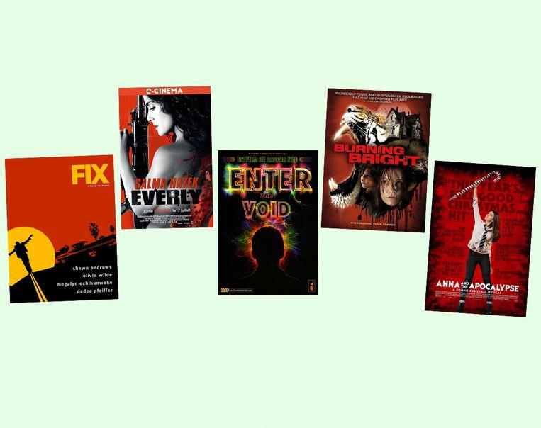 Selectie uit Letterboxdlijst 'What a Difference a Day Makes'. In deze films vindt het verhaal in een enkele dag of nacht plaats. De posters van de films zijn daarbij ook nog eens gesorteerd op kleur.   Beeld