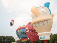 Recordaantal de lucht in tijdens Barneveldse Ballonfiësta