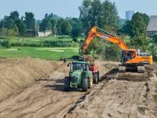 Wel 400 vrachtwagens grond nodig voor grotere golfbaan Oijense Zij in Oss