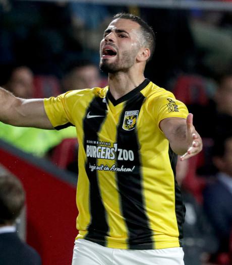 Oussama Tannane van Vitesse maakt meeste overtredingen in eredivisie