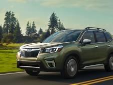 De nieuwe Subaru Forester herkent zijn eigenaar via gezichtsherkenning
