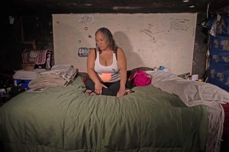 Sharon stierf toen de tunnels overstroomden.