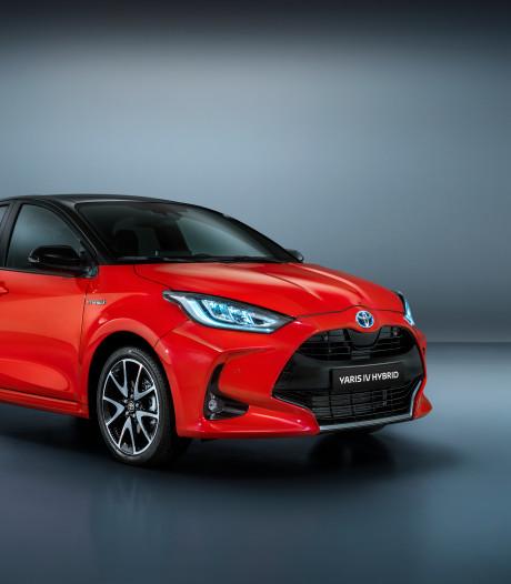 Airbag tussen de voorstoelen in nieuwe Toyota Yaris
