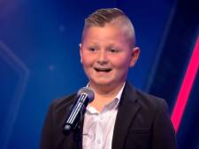 Brutale Pietje (9) en Fleur (10) veroveren Holland's Got Talent