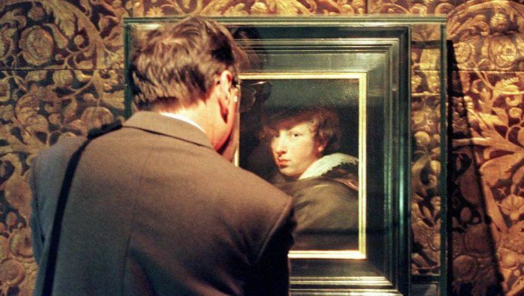 Het (zelf)portret van Antoon Van Dyck. Beeld ANP