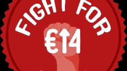 ABVV wil minimumloon verhogen naar 14 euro per uur en gaat daarom picknicken