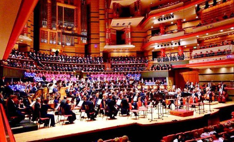 De opening van het 2012 Festival vindt plaats in de Symphony Hall van Birmingham.