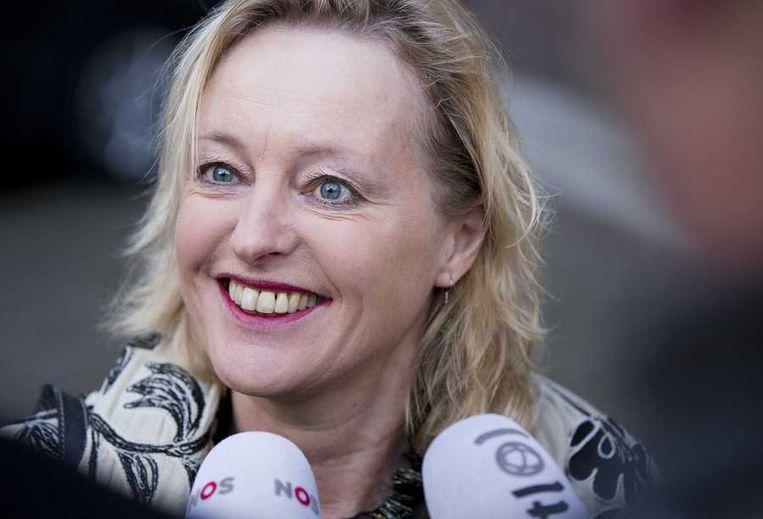 Minister Jet Bussemaker van Onderwijs, Cultuur en Wetenschap Beeld anp
