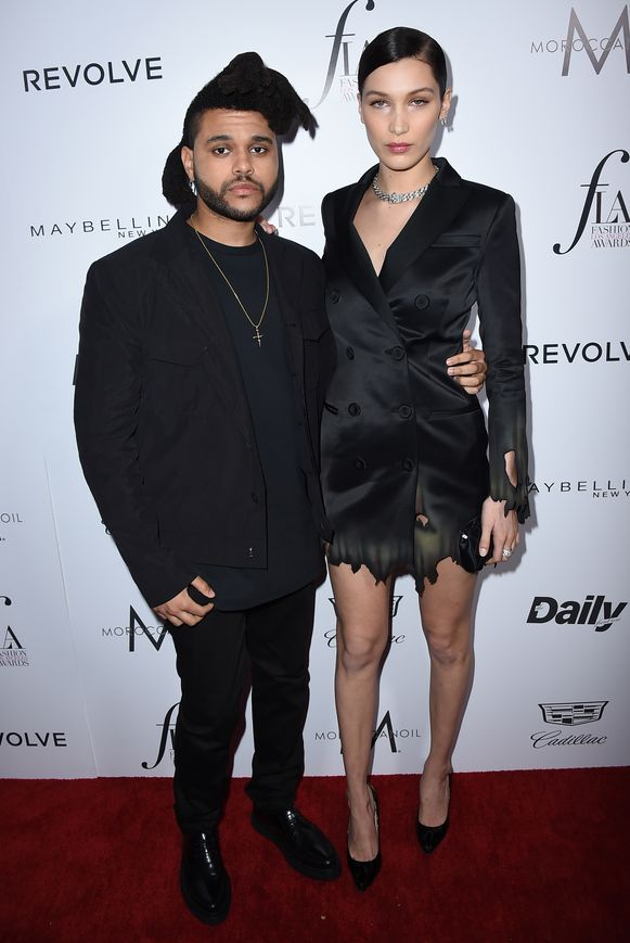 The Weeknd en Bella Hadid