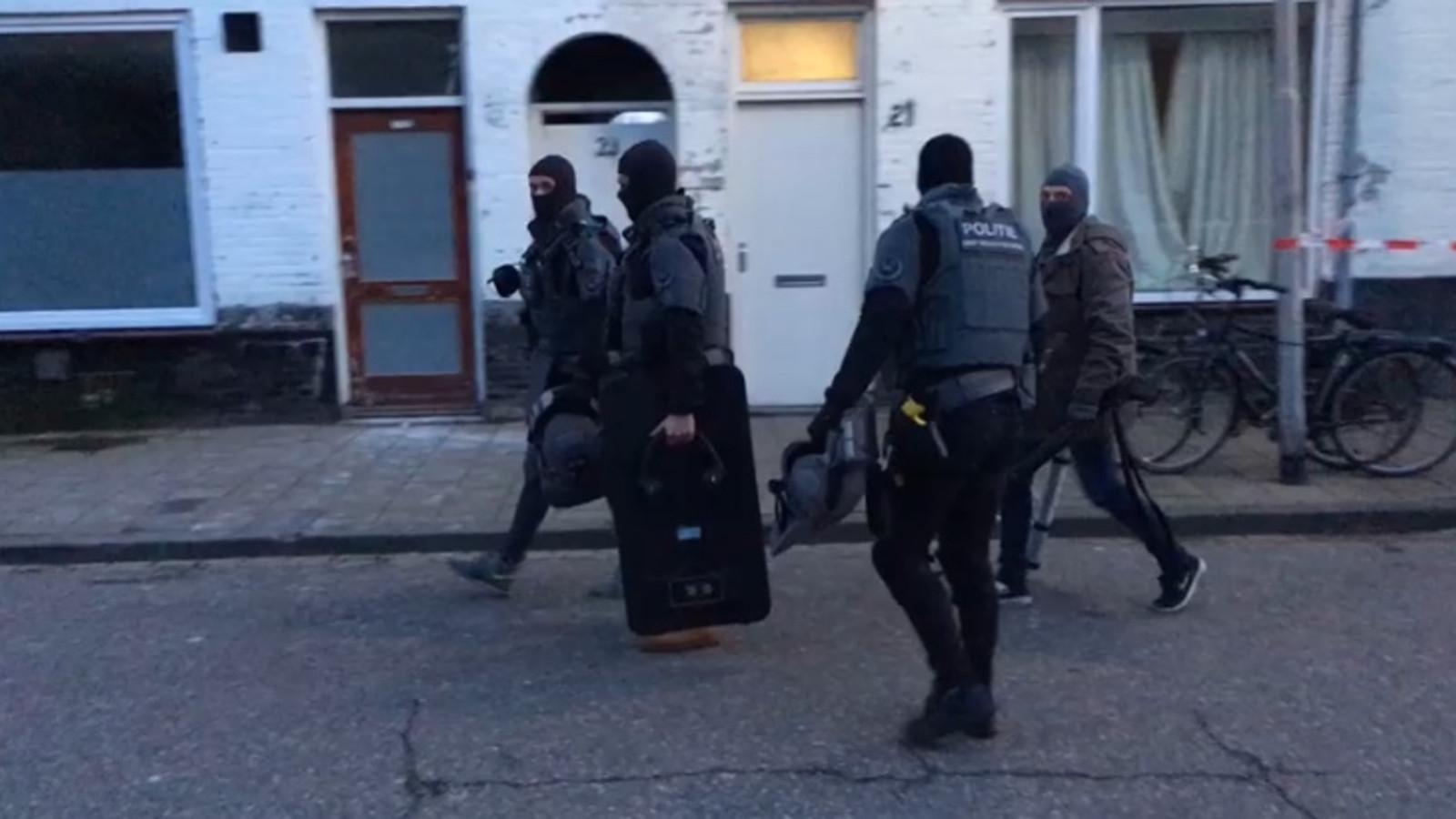 Een arrestatieteam is aan het eind van de middag ingezet in Oss.