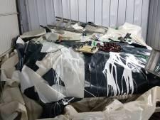 Blaashal tennisvereniging PAF vernield, geschatte schade: 25 mille