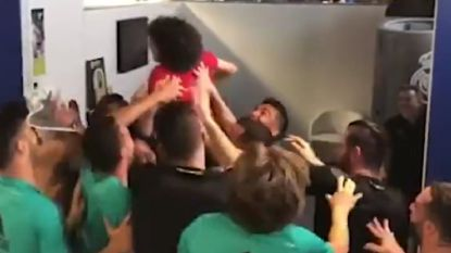 """Zoon Marcelo zet kleedkamer Real Madrid op stelten: """"Papa is trots"""""""
