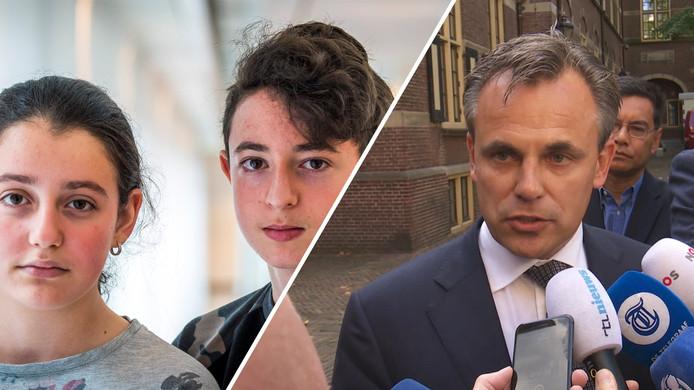 Staatssecretaris Mark Harbers van Justitie en Veiligheid heeft de asielportefeuille in bezit