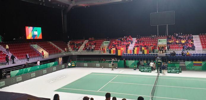 La Coupe Davis n'attire pas les foules à Madrid.
