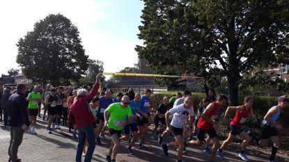 165 deelnemers trotseren gure weer tijdens Glabbeek Loopt