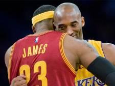 """L'hommage bouleversant de LeBron à Kobe: """"J'ai le coeur brisé et je suis anéanti"""""""