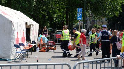 Extreme temperaturen blijven uit tijdens 20 km door Brussel: 550 lopers hebben verzorging nodig, één man gereanimeerd