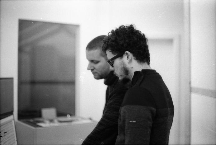 Will Z. et Pierre Vancraenenbroeck.