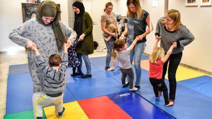 Nieuw in Zele: 'knuffelturnen' met je (klein)kind