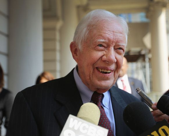 De voormalige Amerikaanse president Jimmy Carter op archiefbeeld.