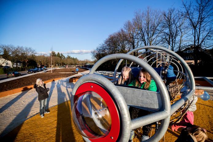Het park boven op de provinciale weg bij Soesterberg wordt geopend.