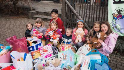 Freinetschool Wondere Wereld verzamelt speelgoed op vraag van Sinterklaas