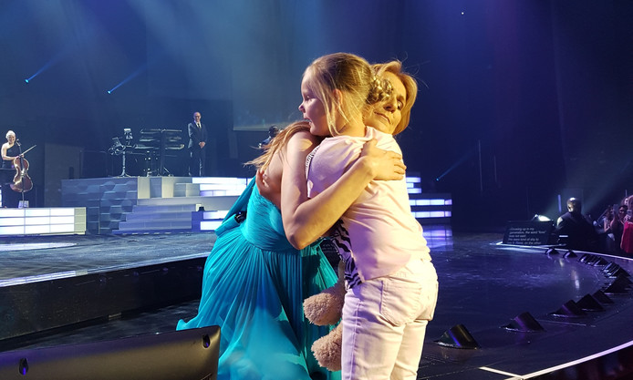 Celine Dion en Jayla.