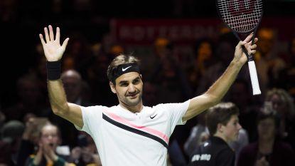 Koning van het tennis: Federer oudste nummer één aller tijden na winst van Haase