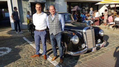 Golden Classic Rally in een Mercedes-Benz 300 Adenauer