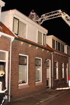 Schoorsteenbrand geblust in Arnemuiden