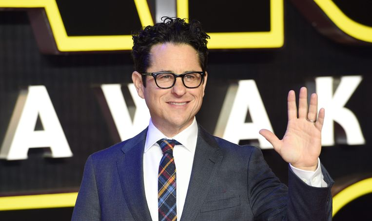 J.J. Abrams op de première van 'Star Wars: The Force Awakens'