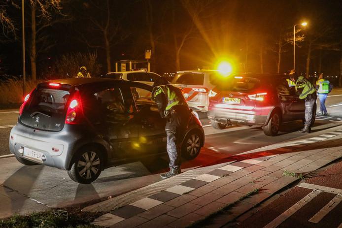 Voor de vierde avond op rij zijn er vanavond verkeerscontroles op Urk.
