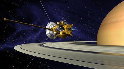 Revolutionaire Cassini maakt kamikazeduik naar Saturnus