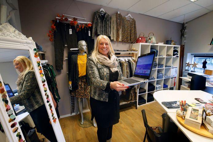 Patricia de Joode begon een eigen bedrijf omdat ze genoeg had van het werken in loondienst. ,,Mode is mijn passie.''