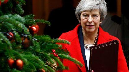 """Stemming uitgesteld? May vreest """"grote onzekerheid"""" in VK als haar brexitakkoord sneuvelt in parlement"""