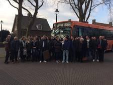 Leuthse supporters Frenk Keukens met volle bussen naar Werkendam