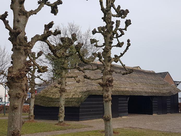 De karkooi op het Pekhoeve-terrein in Ulvenhout.