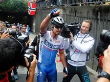 Peter Sagan draagt wereldtitel op aan overleden Scarponi