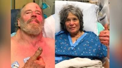 Les images du sauvetage de deux randonneurs septuagénaires disparus pendant 8 jours